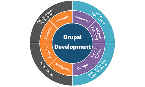 drouple-website-development-project-lifecycle-page